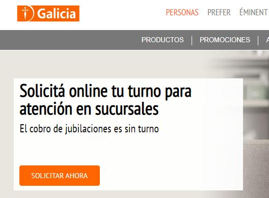 Turno para el Banco Galicia